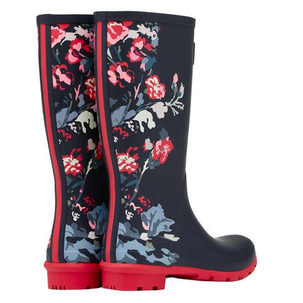 Flower Patterns Rain Boots Boots