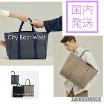 State of Escape Unisex A4 2WAY Plain Handmade Totes