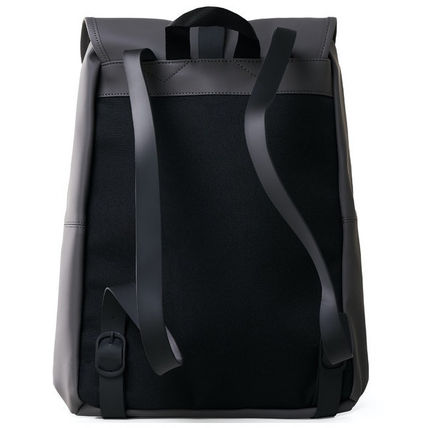 Unisex Plain Backpacks