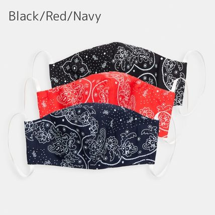 Paisley Unisex Cotton Accessories