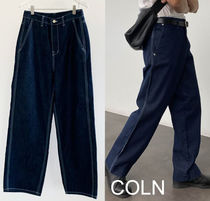 Denim Plain Cotton Jeans