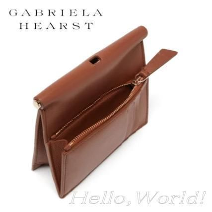 Casual Style Plain Leather Elegant Style Bags