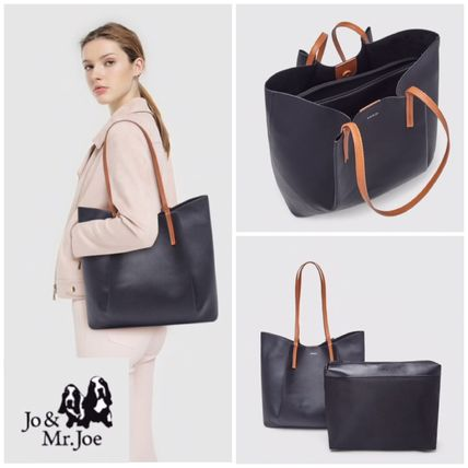 Bag in Bag A4 Plain Office Style Elegant Style Formal Style