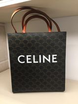 CELINE Triomphe Canvas Small Cabas Vertical In Triomphe Canvas