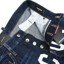D SQUARED2 More Jeans Denim Street Style Logo Jeans 5