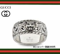 GUCCI Unisex Silver Rings