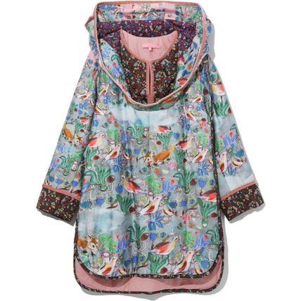 Flower Patterns Long Sleeves Other Animal Patterns Cotton