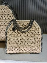 Stella McCartney FALABELLA Casual Style Faux Fur 3WAY Chain Party Style Office Style