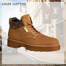 Louis Vuitton MONOGRAM Oberkampf Ankle Boot