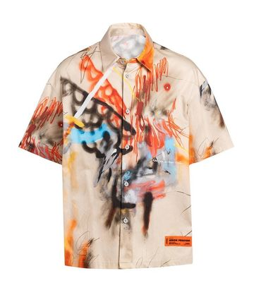 Heron Preston Shirts Street Style Shirts