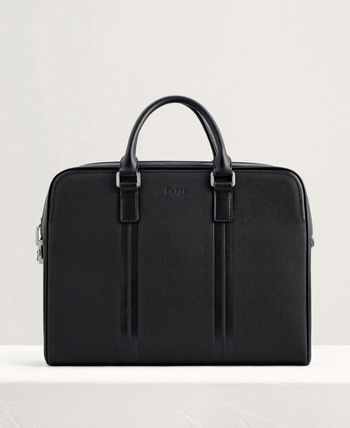Pedro Plain Leather Logo Business & Briefcases