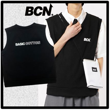 Casual Style Unisex Street Style Vests