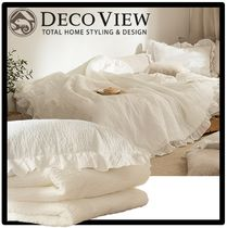 DECO VIEW Unisex Street Style Duvet Covers
