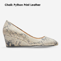 Cole Haan Plain Leather Party Style Office Style Elegant Style