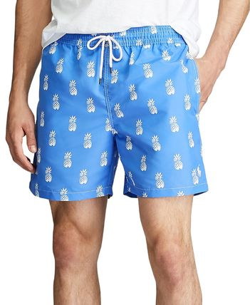 Ralph Lauren Tropical Patterns Logo Swimwear