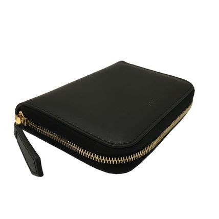 FENDI BAG BUGS Leather Long Wallet  Coin Cases