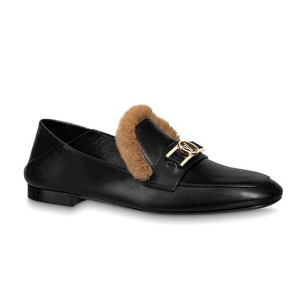Upper Case Flat Loafer