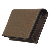 GUCCI Leather Logo Card Holders