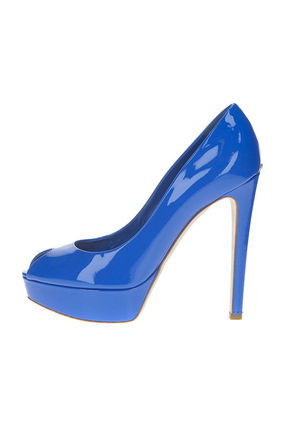 Christian Dior Open Toe Plain Leather Party Style Elegant Style