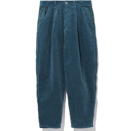 Casual Style Corduroy Pants
