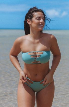 Plain Brazilian Icy Color Bikinis
