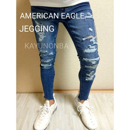 American Eagle Outfitters Skinny Unisex Street Style Skinny Jeans