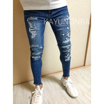 American Eagle Outfitters Unisex Street Style Skinny Jeans