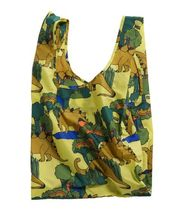 BAGGU Leopard Patterns Nylon Bag in Bag Other Animal Patterns