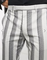 NOOSE & MONKEY Tapered Pants Stripes Street Style Tapered Pants