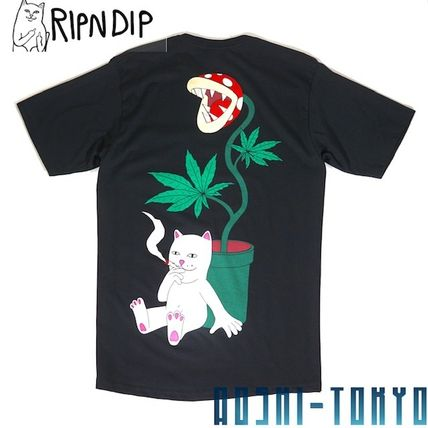 RIPNDIP More T-Shirts Unisex Street Style Skater Style T-Shirts