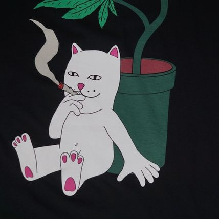 RIPNDIP More T-Shirts Unisex Street Style Skater Style T-Shirts 3