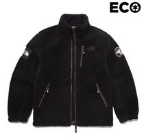 THE NORTH FACE WHITE LABEL Unisex Plain Shearling Logo Jackets