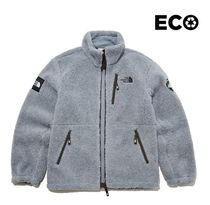 THE NORTH FACE RIMO Unisex Plain Shearling Logo Jackets