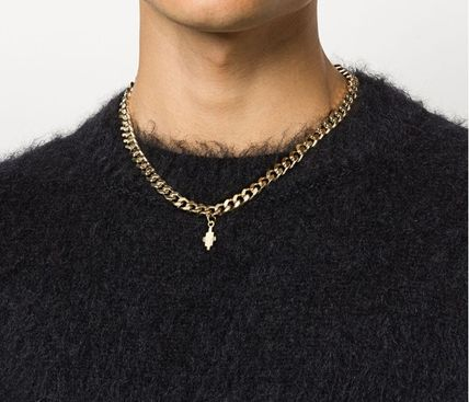 Street Style Silver Chain Necklaces Necklaces & Chokers