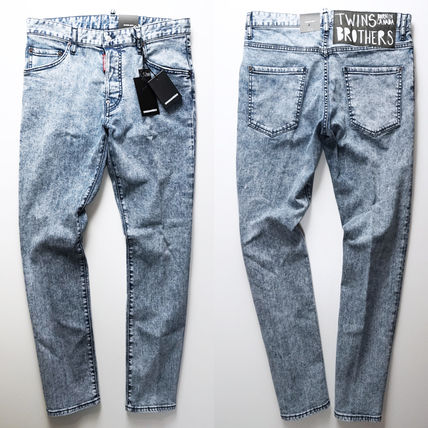 D SQUARED2 Denim Cotton Handmade Jeans