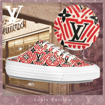 Louis Vuitton MONOGRAM Monogram Casual Style Street Style Bi-color Logo