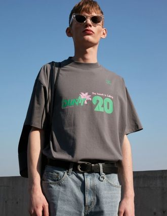 Unisex Street Style Cotton Oversized T-Shirts
