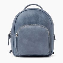 Roots Casual Style Plain Leather Icy Color Backpacks