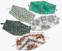 Tory Burch Flower Patterns Paisley Casual Style Accessories