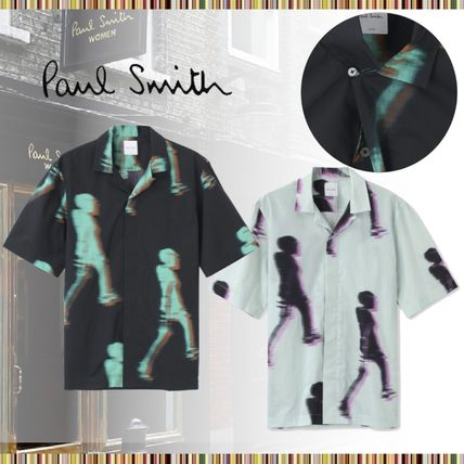 Paul Smith Shirts Cotton Short Sleeves Shirts