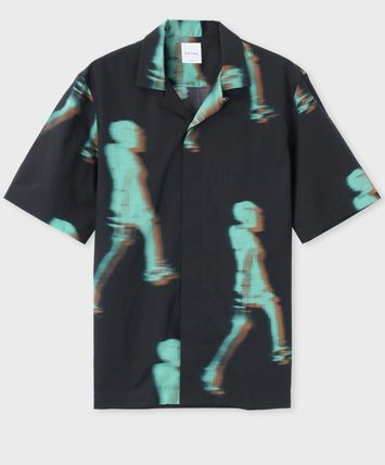 Paul Smith Shirts Cotton Short Sleeves Shirts 3