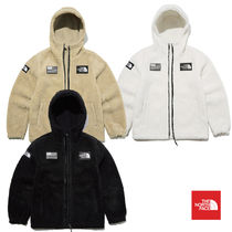 THE NORTH FACE Short Unisex Street Style Logo Jackets