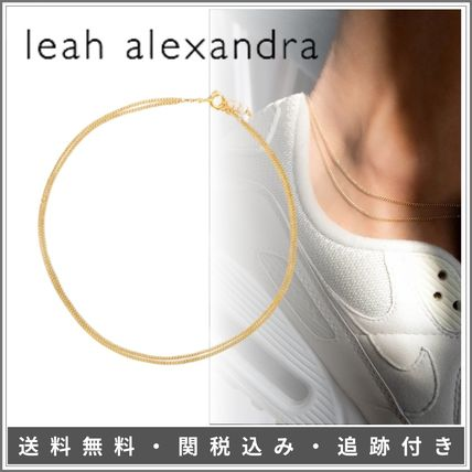 leah alexandra Costume Jewelry Casual Style Chain Party Style Office Style