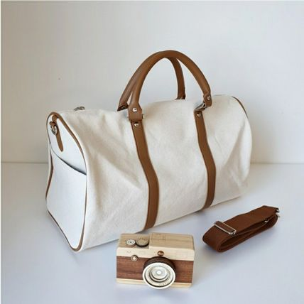 Unisex Canvas 2WAY Boston & Duffles