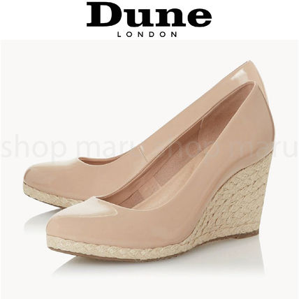 Dune LONDON Formal Style  Round Toe Casual Style Enamel Plain