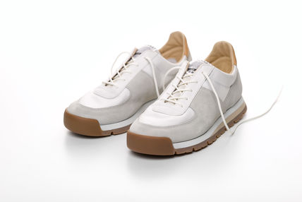 SPALWART Sneakers Unisex Suede Street Style Plain Leather Sneakers
