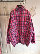 BALENCIAGA Other Plaid Patterns Casual Style Street Style Jackets