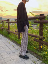 ASCLO Printed Pants Unisex Street Style Other Animal Patterns