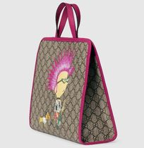 GUCCI Blended Fabrics Street Style Kids Girl Bags
