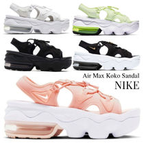 Nike AIR MAX KOKO Open Toe Platform Casual Style Plain Logo
